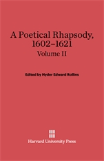 Cover: A Poetical Rhapsody, 1602–1621, Volume II