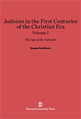 Cover: Judaism in the First Centuries of the Christian Era: The Age of the Tannaim, Volume I