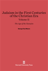 Cover: Judaism in the First Centuries of the Christian Era: The Age of the Tannaim, Volume II
