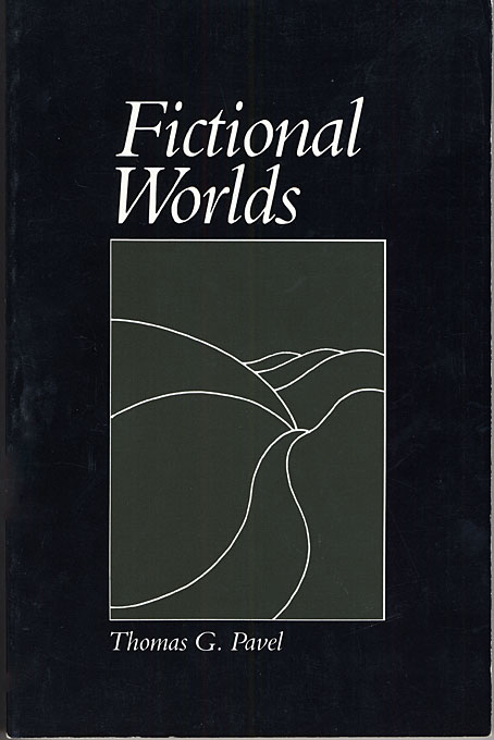 Cover: Fictional Worlds, from Harvard University Press