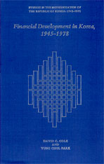 Cover: Financial Development in Korea, 1945–1978