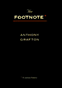 Cover: The Footnote: A Curious History