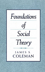 Cover: Foundations of Social Theory in PAPERBACK