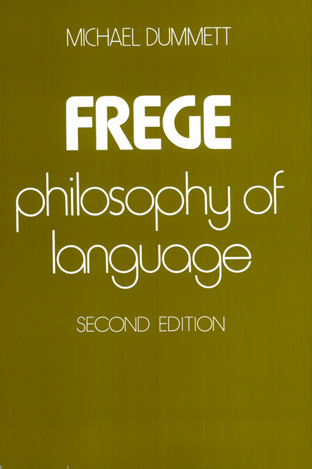 Cover: Frege: Philosophy of Language, Second Edition, from Harvard University Press