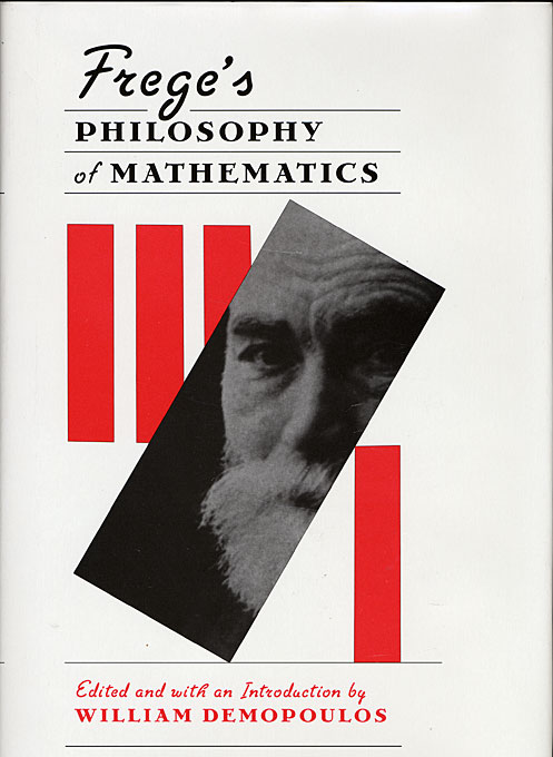Cover: Frege's Philosophy of Mathematics, from Harvard University Press
