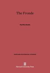 Cover: The Fronde