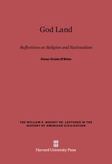 Cover: God Land: Reflections on Religion and Nationalism