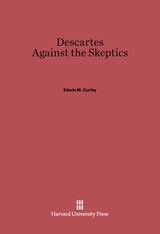 Cover: Descartes Against the Skeptics