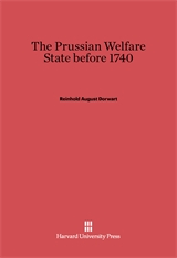 Cover: The Prussian Welfare State before 1740