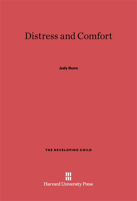 Cover: Distress and Comfort, from Harvard University Press