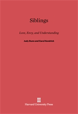 Cover: Siblings: Love, Envy, and Understanding