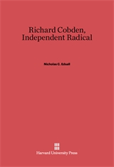 Cover: Richard Cobden in E-DITION