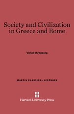 Cover: Society and Civilization in Greece and Rome