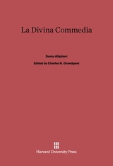 Cover: La Divina Commedia: Rev. edition