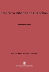 Cover: Francisco Ribalta and His School