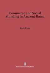 Cover: Commerce and Social Standing in Ancient Rome