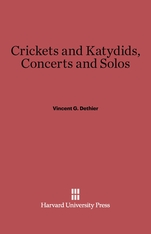 Cover: Crickets and Katydids, Concerts and Solos