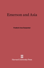 Cover: Emerson and Asia