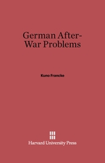 Cover: German After-War Problems