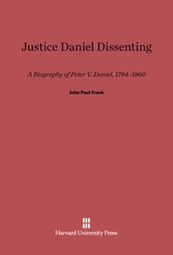 Cover: Justice Daniel Dissenting in E-DITION