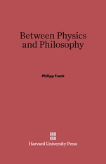 Cover: Between Physics and Philosophy