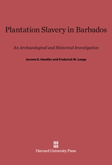 Cover: Plantation Slavery in Barbados: An Archaeological and Historical Investigation