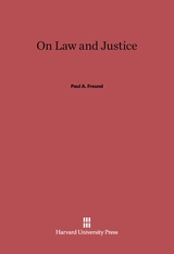 Cover: On Law and Justice