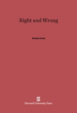 Cover: Right and Wrong