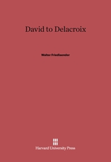 Cover: David to Delacroix