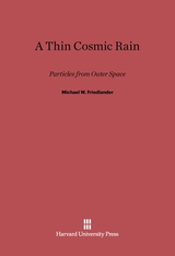 Cover: A Thin Cosmic Rain in E-DITION