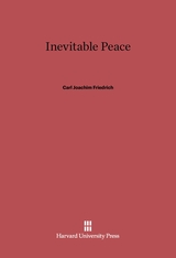 Cover: Inevitable Peace