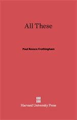 Cover: All These