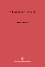 Cover: A Congreve Gallery in E-DITION