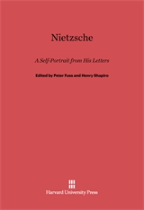 Cover: Nietzsche: A Self-Portrait from His Letters
