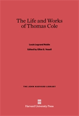 Cover: The Life and Works of Thomas Cole