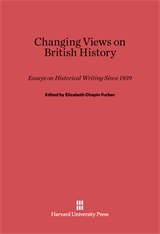 Cover: Changing Views on British History: Essays on Historical Writing since 1939