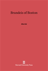Cover: Brandeis of Boston
