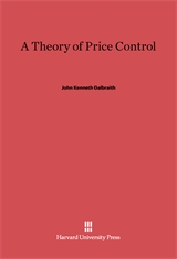 Cover: A Theory of Price Control in E-DITION