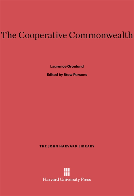 Cover: The Cooperative Commonwealth, from Harvard University Press
