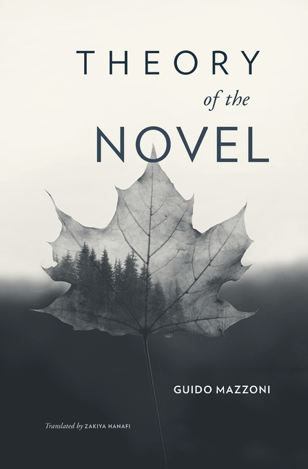 Cover: Theory of the Novel, from Harvard University Press