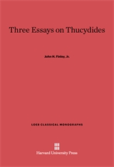 Cover: Three Essays on Thucydides