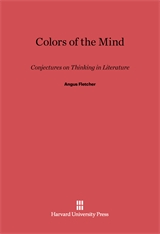 Cover: Colors of the Mind: Conjectures on Thinking in Literature