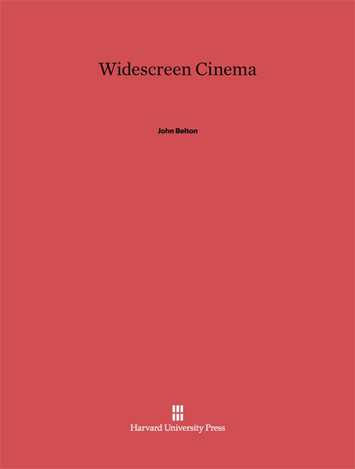 Cover: Widescreen Cinema, from Harvard University Press