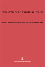 Cover: The American Business Creed