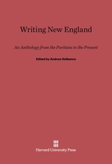 Cover: Writing New England: An Anthology from the Puritans to the Present