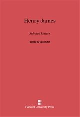 Cover: Henry James: Selected Letters