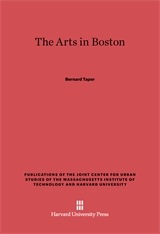 Cover: The Arts in Boston: An Outsider's Inside View of the Cultural Estate