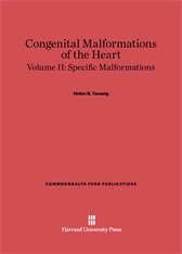 Cover: Congenital Malformations of the Heart, Volume II: Specific Malformations in E-DITION