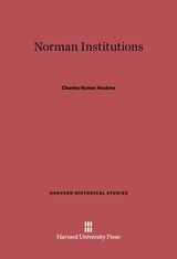 Cover: Norman Institutions