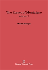 Cover: The Essays of Montaigne, Volume II
